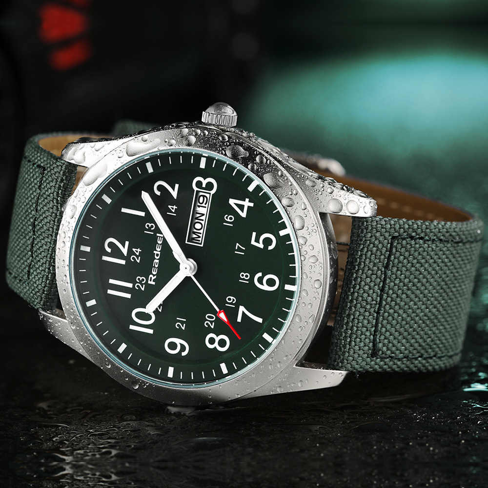 Readeel Sport Horloges Mannen Luxe Merk Militaire Mannen Horloges Klok Man Quartz Horloge Relogio Masculino horloges mannen saat