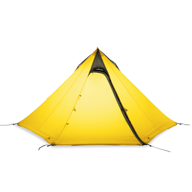 3F ul gear Outdoor 3 Man C&ing Tent None Pole Ultralight Large Space C& Teepee pyramid  sc 1 st  AliExpress.com & 3F ul gear Outdoor 3 Man Camping Tent None Pole Ultralight Large ...