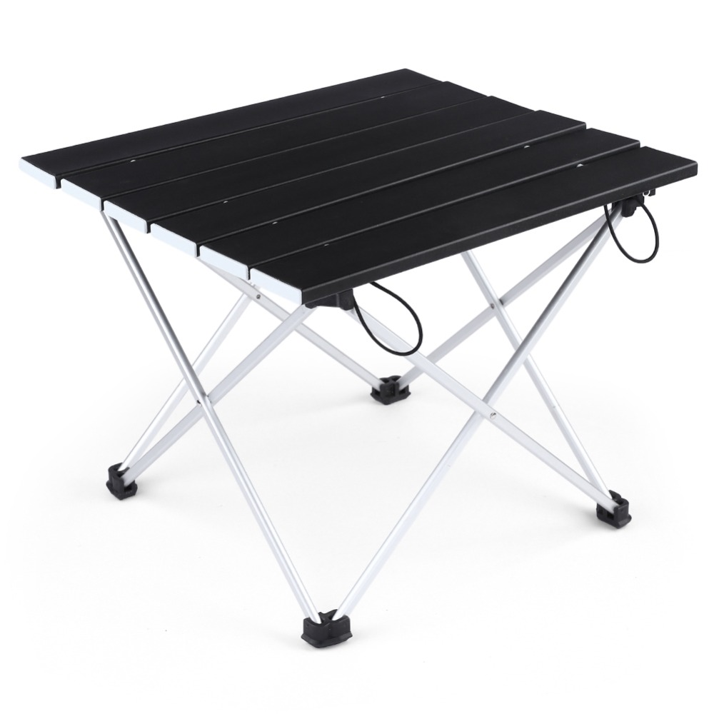 Portable Table Foldable Folding BBQ Table Camping Table Picnic Table Camping Hiking Desk Travel Outdoor Al