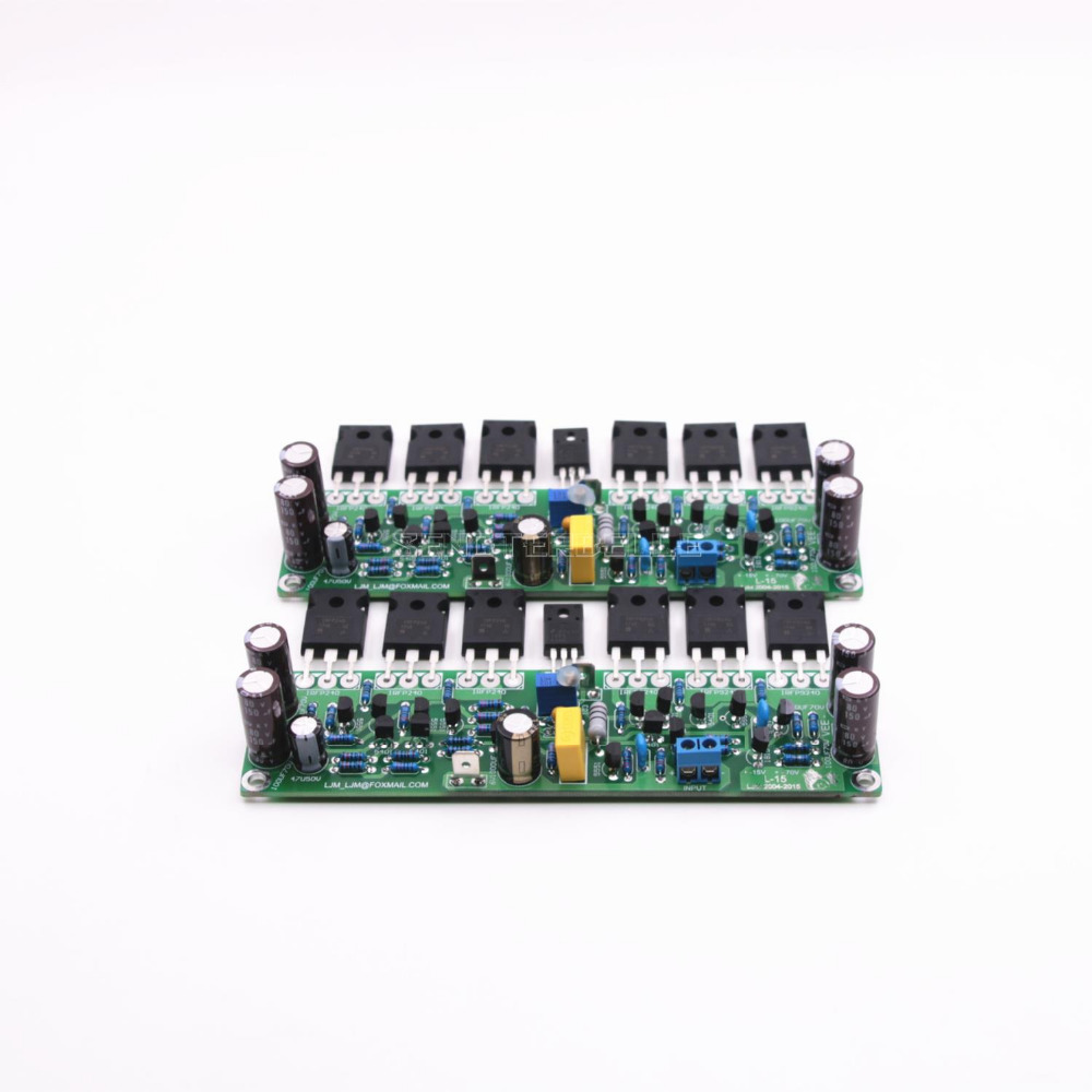 Assembled L15 2 Channels Mosfet Stero Audio Power Amplifier Board 240w Schematic Diy Irfp240 Irfp9240 Field Effect Tube Amp In From Consumer Electronics On