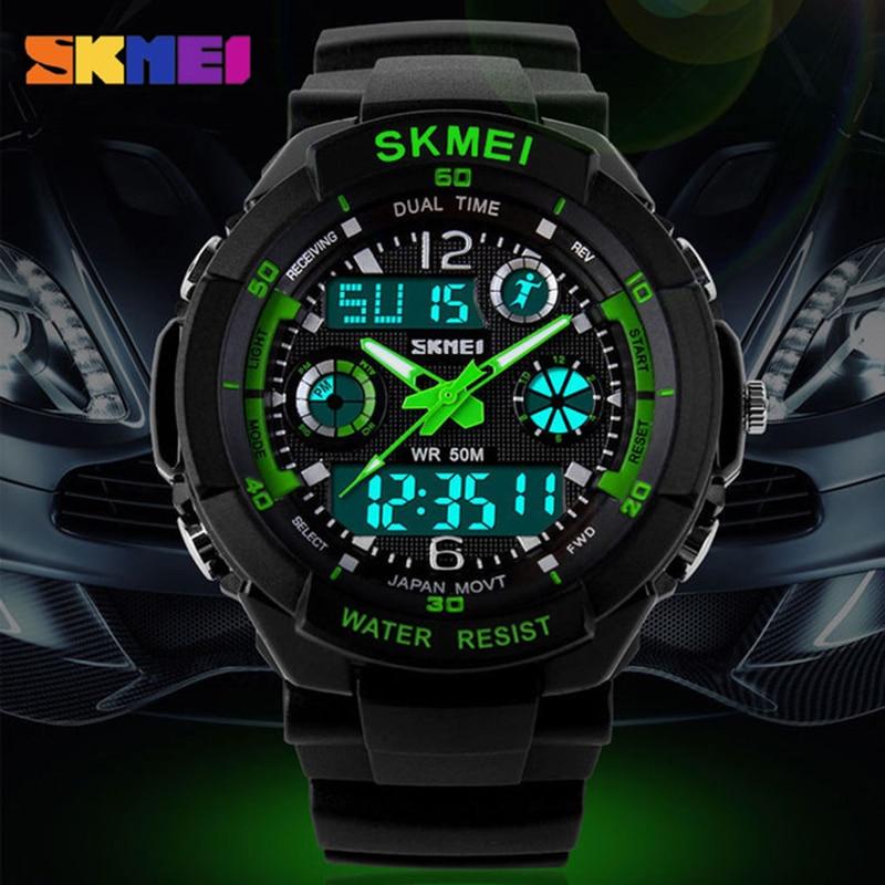 Los hombres Digital de cuarzo reloj de los hombres de deportes Relojes reloj Masculino azul del reloj SKMEI Shock S Relojes LED impermeable militar Relojes 0931