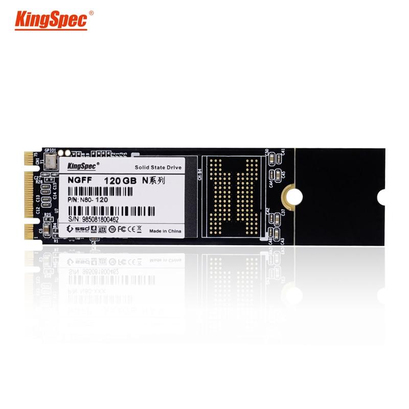 Computer part kingspec 22x80mm NGFF M.2 SSD disk 120GB interface HDD drive flash MLC memory for lartop/ULTRABOOK Free shipping цена