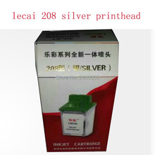 hot sale 4pcs/lot lecai novajet 750 parts novajet 750 cartridge lecai print silver head for sell