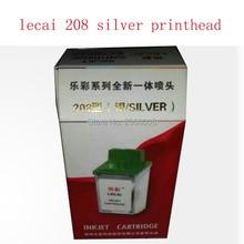 hot sale 4pcs/lot lecai novajet 750 parts cartridge print silver head for sell