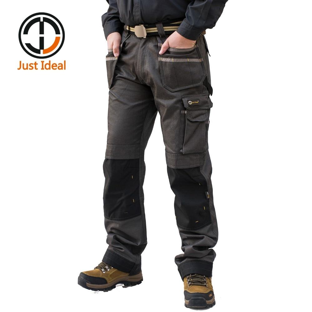 2018 Men Cargo Pants Casual Multi Pocket Pant Military -6264