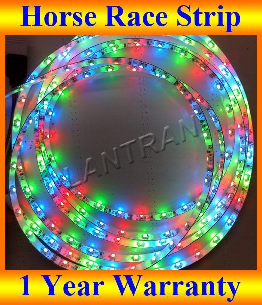 5M Changeable Dream Color Horse Race marquee SMD 5050 RGB 300 LED 60 led/M Waterproof LED Strip light + DHL FREE SHIPPING
