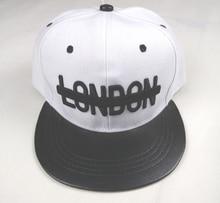 Alta calidad SnapBack 3D Londres bordado hip hop Cap Flat Bill gorra de  béisbol para hombres 698c088ed02