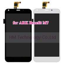 5.5″ Black White LCD+TP for ARK Benefit M7 LCD Display+Touch Screen Digitizer Panel Assembly Replacement Free Shipping+Tools