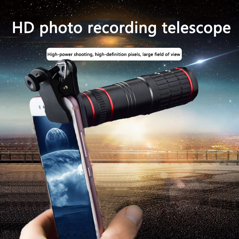 Universal 20X Telescope Optical Zoom Mobile Phone Lens For IPhone Samsung Huawei