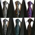 Ropa de moda A Cuadros Cravata Marca Popular Corbatas De Poliéster Corbata Lazo de Los Hombres Para La Boda de Moda Camisas de Negocios Corbatas Para El Partido
