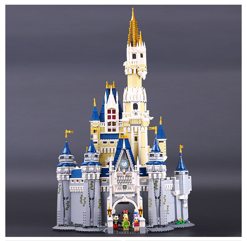 LEPIN 16008 Cinderella Princess Castle City Model Building Block Kid Toys Gift Compatible 71040 lepin 16008 4160pcs cinderella princess castle city model building block kid educational toys for gift compatible legoed 71040