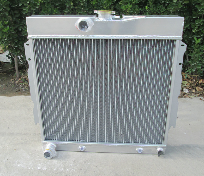 3ROW ALUMINUM RADIATOR FOR 1963-1969 DODGE DART//CHARGER//CORNET//FURY PLYMOUTH V8