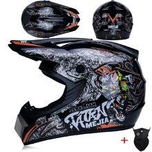 Мотоциклетный шлем для мужчин, мотоциклетный шлем для мотокросса, мотоциклетный шлем для мотокросса