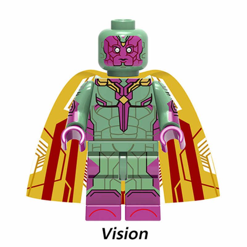 Mới 8 Cái/lốc Groot Ảo Giác Chiến Binh Mùa Đông Người Sắt Legoed Lắp Ghép Khối Xây Dựng Bộ Đồ Chơi Trẻ Em Quà Tặng