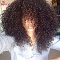 Peruvian curly hair with closure 9A top curly hair bundles with closure Peruvian weave with closure 3 bundles curly wave closure