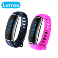 V8 Bluetooth Wristband Heart Rate Monitor smart band blood pressure Test Bracelet For IOS 8.0 and above Android 4.4 Above