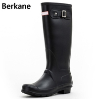The British Dripdrop Classic Tall Canister Boots Lady Shoes Boots Waterproof Overshoes Winter Boots Female Female