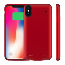 5200mAh External Battery Case Phone Bracket For iPhone Xs Max Spare Battery Protective Bumper with Audio Power Bank Charger