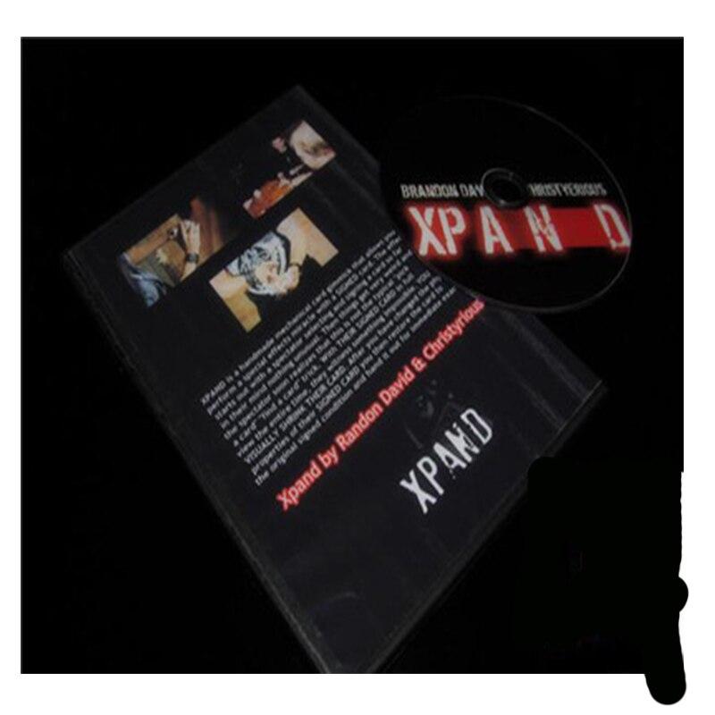 XPand подпись карты Масштабирование (DVD и трюк) закрыть реквизита ментализм Иллюзия маг Magie профессиональных тайна ...