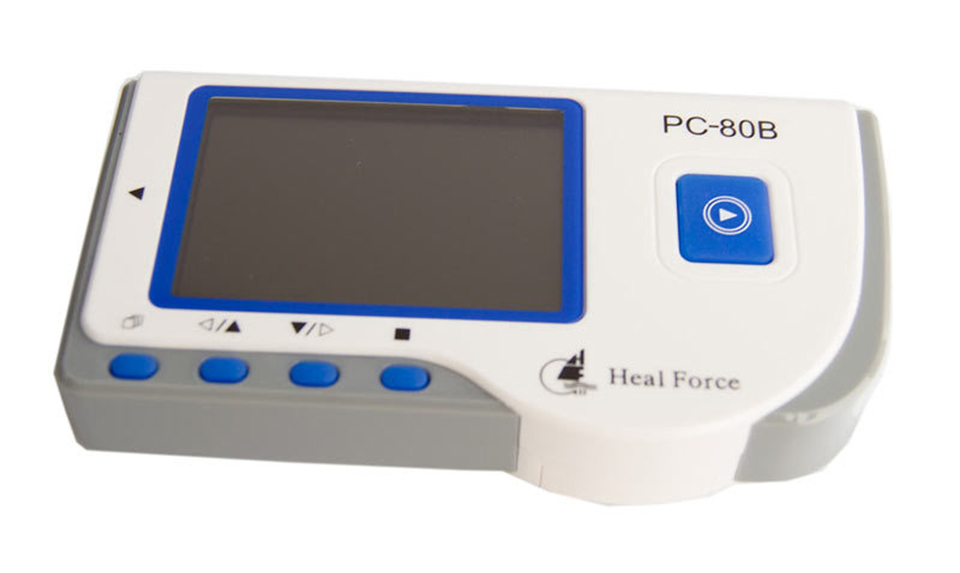 2017 New ECG Monitor PC-80B Handheld Color Lcd Screen ECG EKG Portable Heart Monitor health care ce easy handheld ecg ekg portable mini pc 80b lcd heart ekg monitor continuous measuring function usb