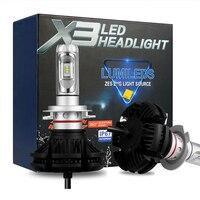 H27 880 881 H7 LED Car Headlights Bulbs 50W 12000LM H7 LED Bulbs H27 880 881