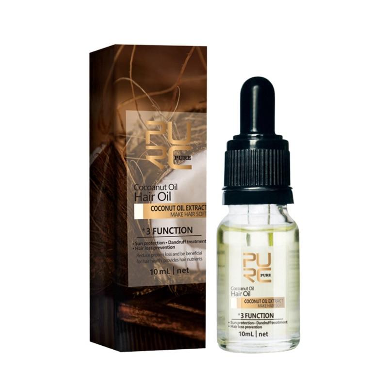 Coconut oil Hair Oil Reduce Protein Loss Beneficial for Hair Health hair Repairment Treatment