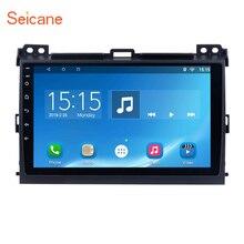 Seicane 2Din Android 6.0/7.1 9″Car Radio Stereo GPS Navi Tochscreen Wifi Multimedia Player Head Unit For 2007-2010 Toyota Prado