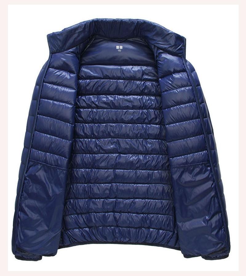 Men Casual Portable Parkas Down Jacket/Coat