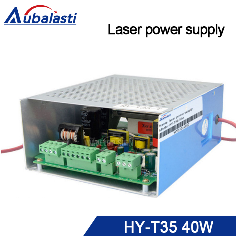 купить Laser power supply HY-T35 40W power supply use for co2 laser tube 40w