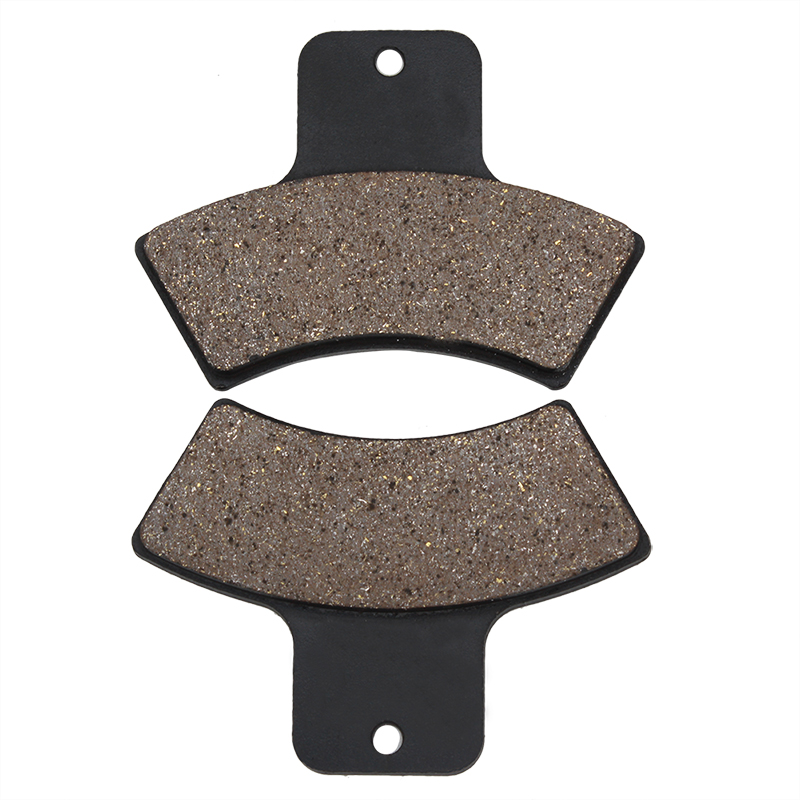 Cyleto Motorcycle Rear Brake Pads for POLARIS 250 Trail Blazer 1999-2004 Magnum 325 2000-2001 325 Trail Boss 325 2001-2002