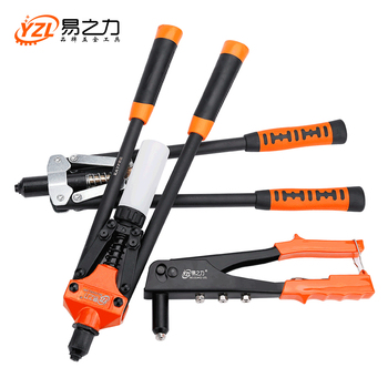 цена на Riveter Gun Auto rivet tool  Blind Rivet Nut Gun Heavy Hand INSER NUT Tool Manual Mandrels 101-102-103-104-105