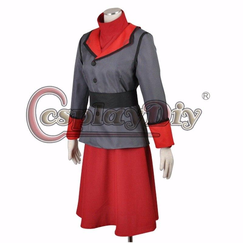 Avatar The Legend of Korra Season 4 Asami Sato Cosplay Clothing custom made