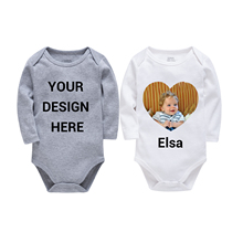 KAVKAS Clothing Printing Full Sleeve Unisex Bebes 2pcs