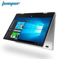 Джемпер EZbook X1 11,6 FHD ips сенсорный экран ноутбука Intel Близнецы озеро N4100 ноутбук 4 ГБ DDR4 64 ГБ eMMC 64 ГБ SSD Windows 10 из металла