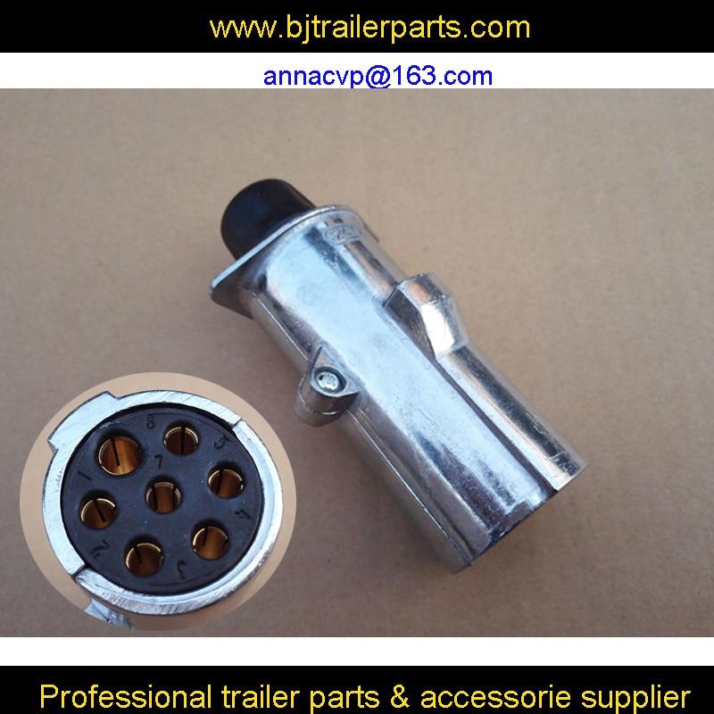 Trailer Wiring Diagram Further Semi 7 Pin Trailer Plug Wiring Diagram