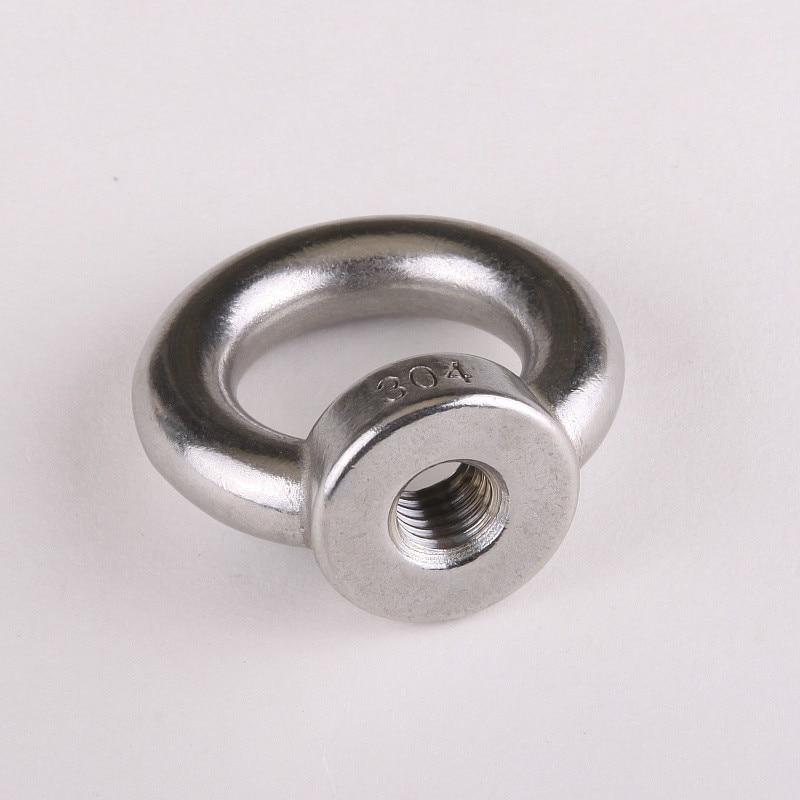 1PCS TJBH 304 Stainless Steel Eyenut M201PCS TJBH 304 Stainless Steel Eyenut M20
