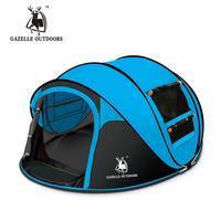 Pop up tendas turista tenda Automático 3-4 pessoa acampamento Ao Ar Livre Praia pesca tenda tenda de viagem à prova d' água 3.65 kg