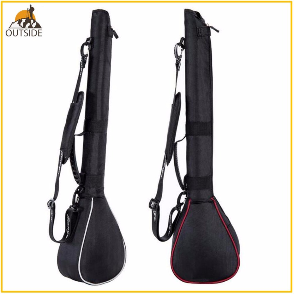 Foldable Golf Gun Bag Package Capacity Packed 3 Clubs Mini Soft Club Bag Package Shoulder Club Bags  For Man Woman
