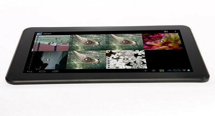 Vente en gros-10.1 pouces Allwinner A20 Dual Core 1.2 Android 4.2 1 GB RAM 8 GB ROM tablette PC écran tactile capacitif hdmi Wifi Webcam - 4