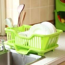 Umweltfreundliche Kunststoff Abtropfbrett Home küche Gesundheit Geschirr Sickerwasser Lagerregal