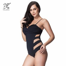Sexy Transparent Mesh Women's One Piece Swimsuit