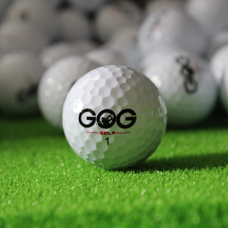 New 2Pcs Golf Balls Beginners Practice Driving Range Training Double Layer Ball Rubber Hot sale