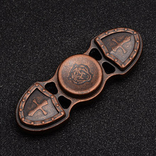 Copper fidget spinner Vintage Low noise High Speed Fine craft Lasting rotation hand spinner #T018