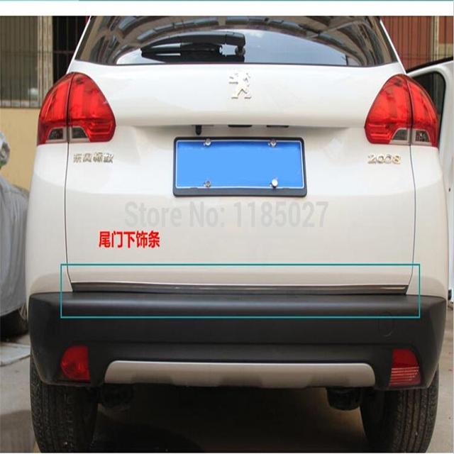 High quality stainless steel Rear Trunk Lid Cover Trim For 2008