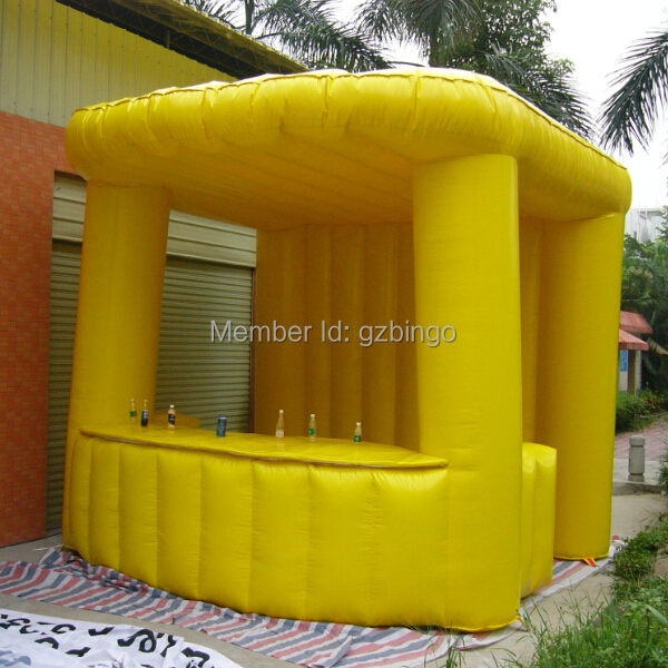 Inflatables inflatable bar counter inflatable booth inflatable model toy tent
