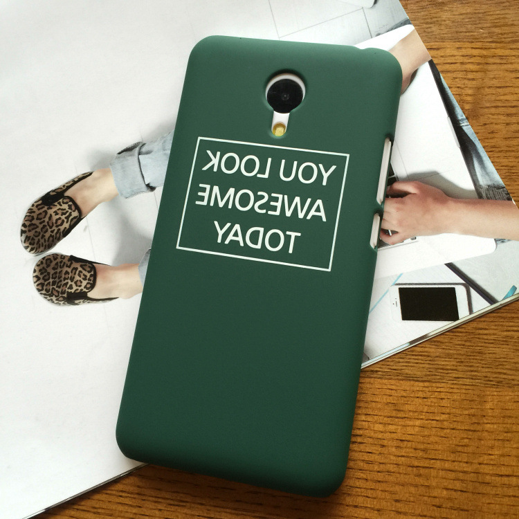 SZYHOME Phone Cases For Meizu MX4 MX5 MX6 Pro 2 3 6 M1 M2 M3 Metal note E Plus Case Green For Meizu Note Mobile Phone Cover Case
