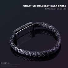 Wearable USB Charging Bracelet Cable Micro Charger For iPhone Samsung Galaxy S10 S9 Note 8 Xiaomi Huawei