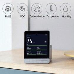 Xiaomi Mijia ekran IPS telefon komórkowy dotykowy operacji ClearGrass Monitor powietrza Retina dotykowy kryty odkryty detektor powietrza pracy aplikacji Mijia 3