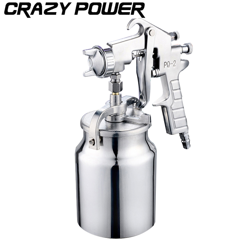 CRAZY POWER Magic Spray Gun Sprayer Air Brush Alloy Painting Paint Tool Professional Pneumatic Furniture For Painting Car Home