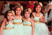 2015 Latest With Straps Girl's Pageant Dresses Ball Gown Mint Color Soft Tulle Floor length Cute Tutu Flower Girl Dresses